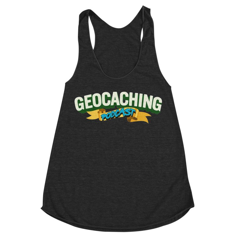 GCPC Logo (Just Text) Women's Racerback Triblend Tank by Geocaching Podcast Store