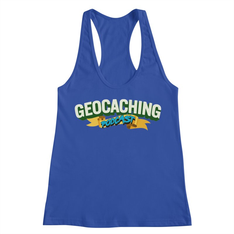 GCPC Logo (Just Text) Women's Racerback Tank by Geocaching Podcast Shop
