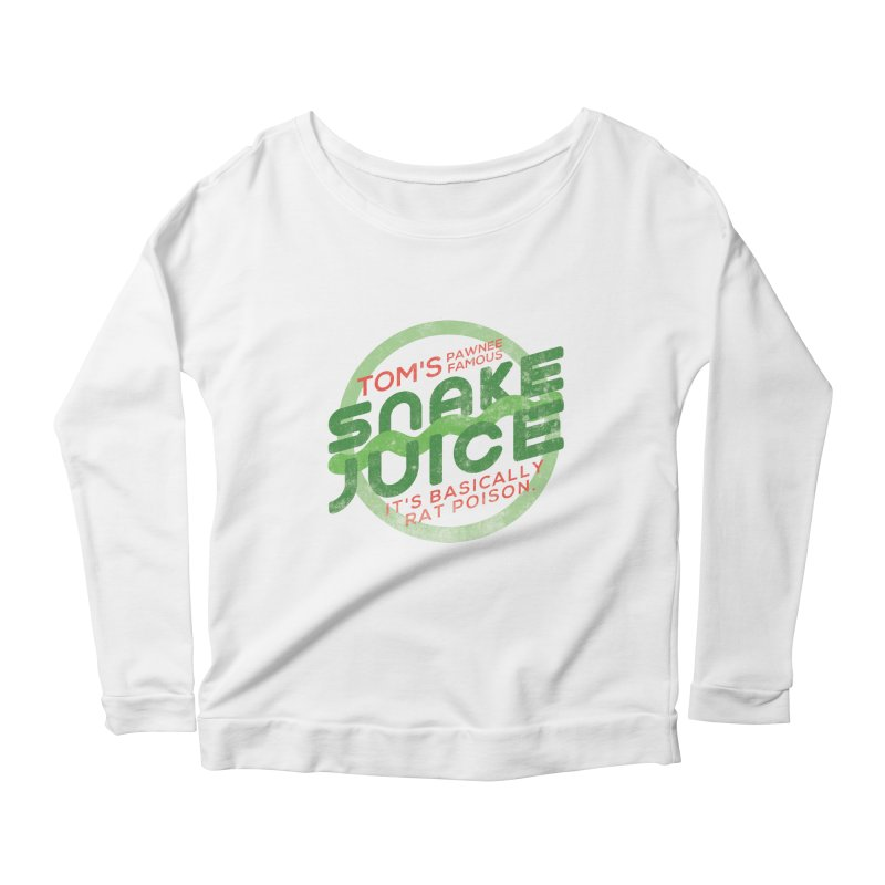 Rat Poison Women's Scoop Neck Longsleeve T-Shirt by Gepson Design
