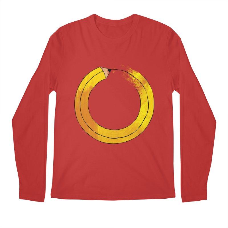 Pencil-ception Men's Regular Longsleeve T-Shirt by Gepson Design