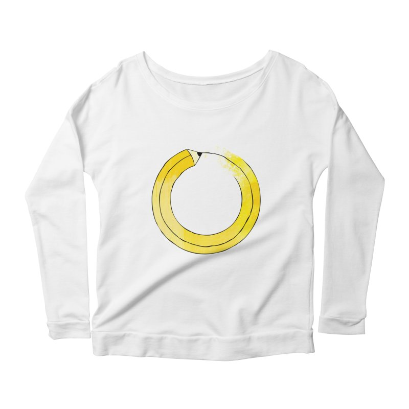 Pencil-ception Women's Scoop Neck Longsleeve T-Shirt by Gepson Design