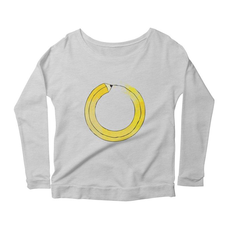 Pencil-ception Women's Scoop Neck Longsleeve T-Shirt by Gepson Design