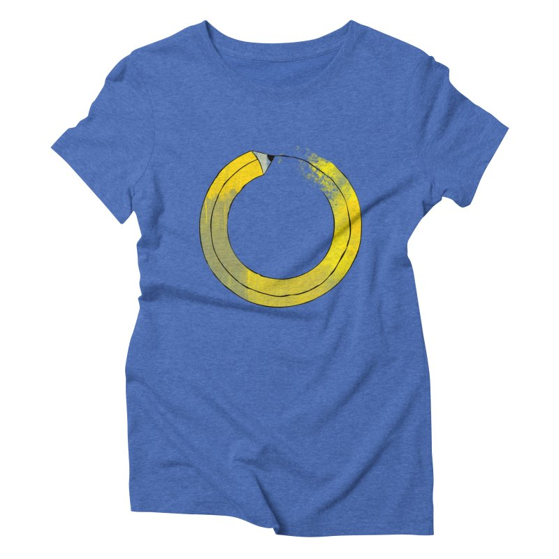 Pencil-ception Women's Triblend T-Shirt by Gepson Design