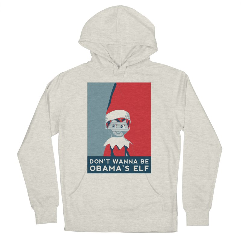 All By My Elf Men's Pullover Hoody by Gepson Design