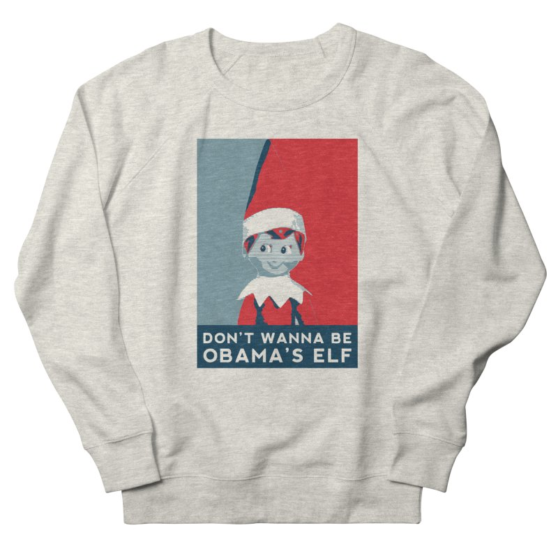 All By My Elf Men's Sweatshirt by Gepson Design