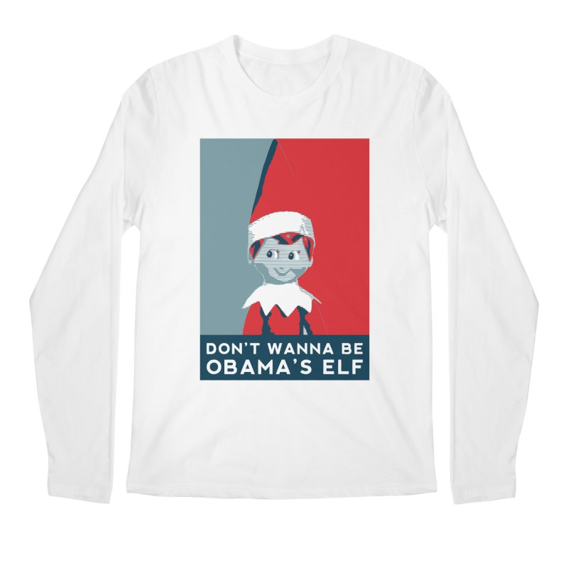 All By My Elf Men's Regular Longsleeve T-Shirt by Gepson Design