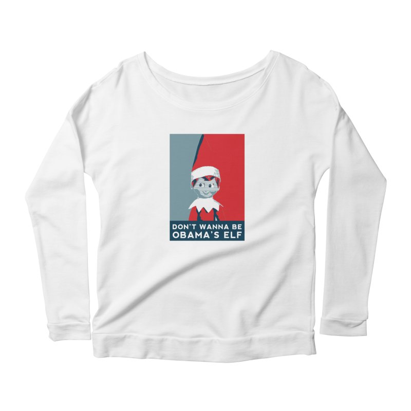 All By My Elf Women's Longsleeve T-Shirt by Gepson Design