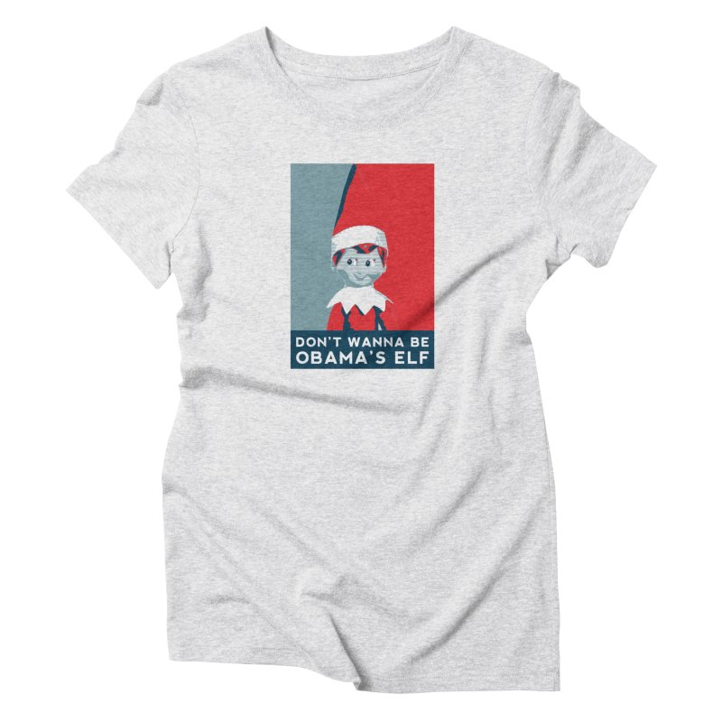All By My Elf Women's T-Shirt by Gepson Design