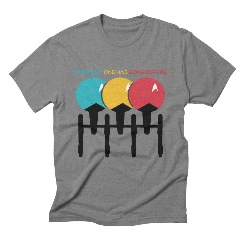 Where No One Has Gone Before Men's T-Shirt by Gepson Design