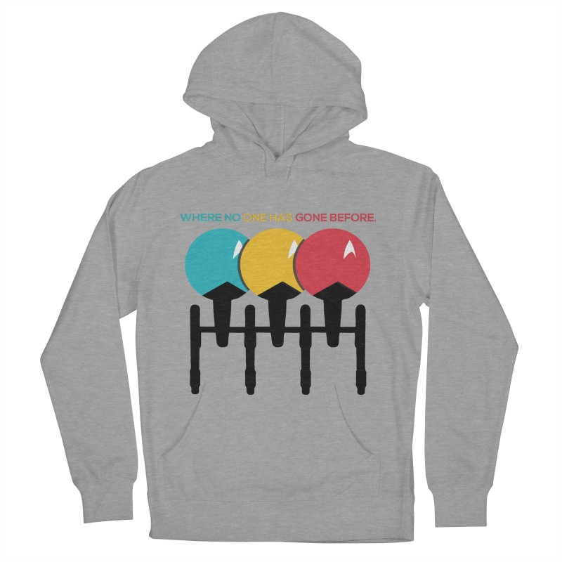 Where No One Has Gone Before Women's Pullover Hoody by Gepson Design
