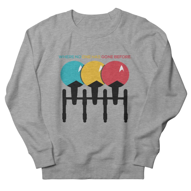Where No One Has Gone Before Women's Sweatshirt by Gepson Design