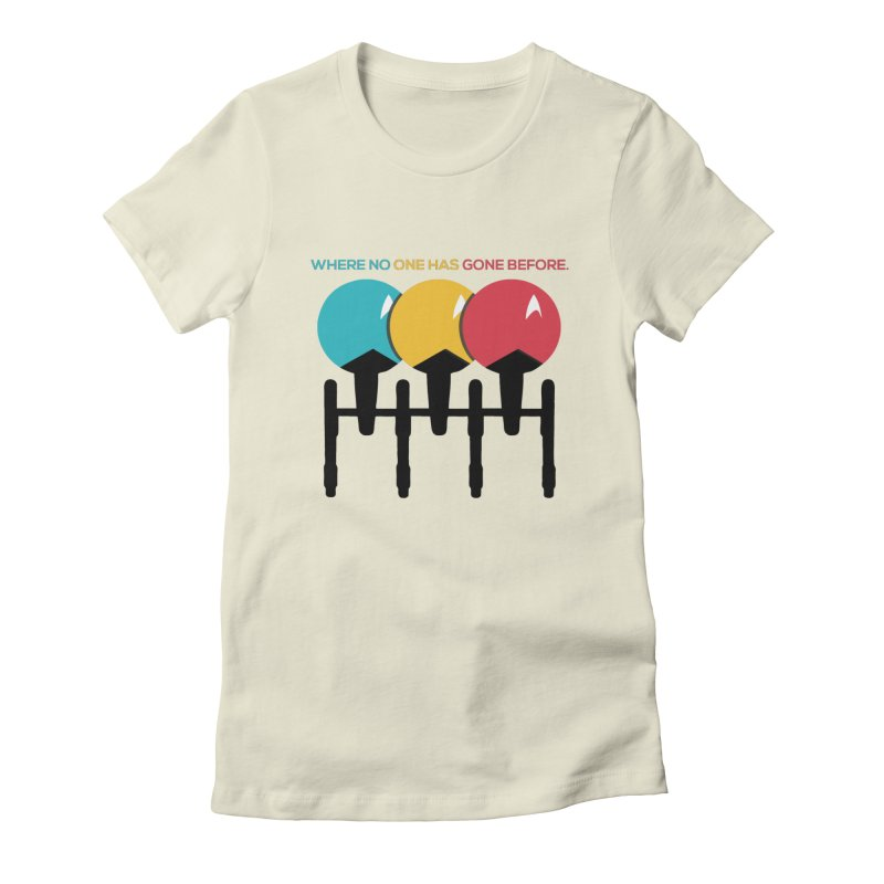 Where No One Has Gone Before Women's T-Shirt by Gepson Design