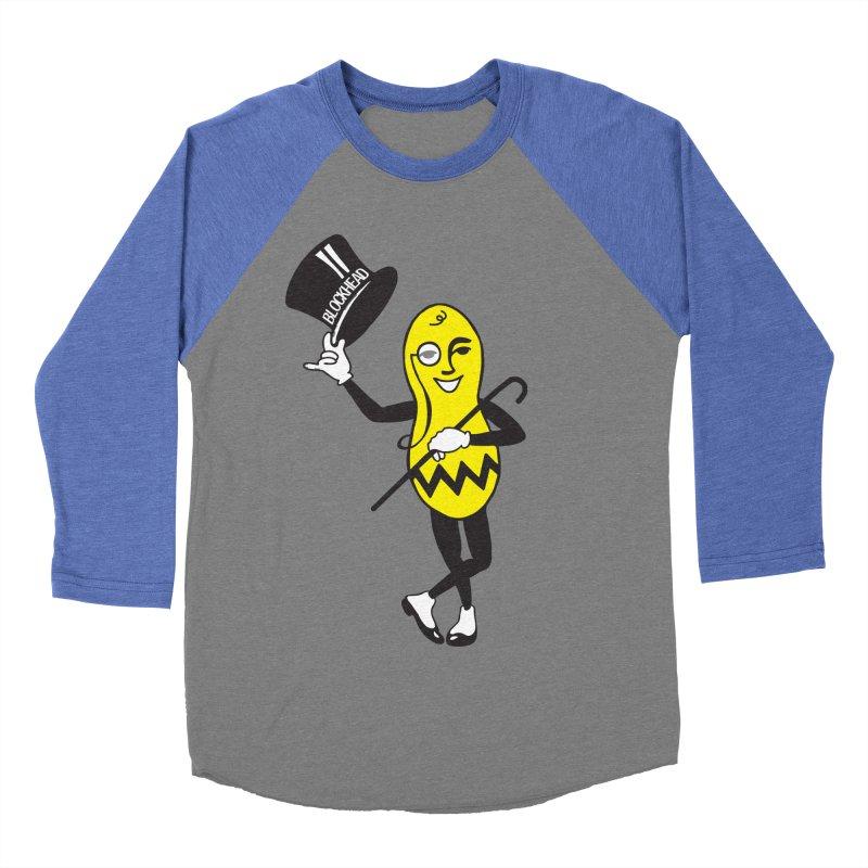 Peanuts Men's Baseball Triblend Longsleeve T-Shirt by Gepson Design