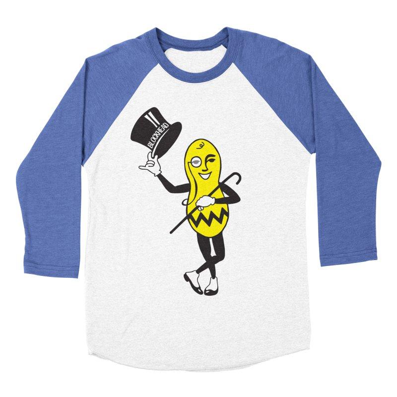 Peanuts Men's Baseball Triblend T-Shirt by Gepson Design