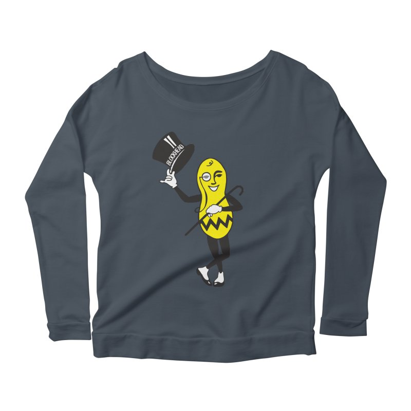 Peanuts Women's Scoop Neck Longsleeve T-Shirt by Gepson Design