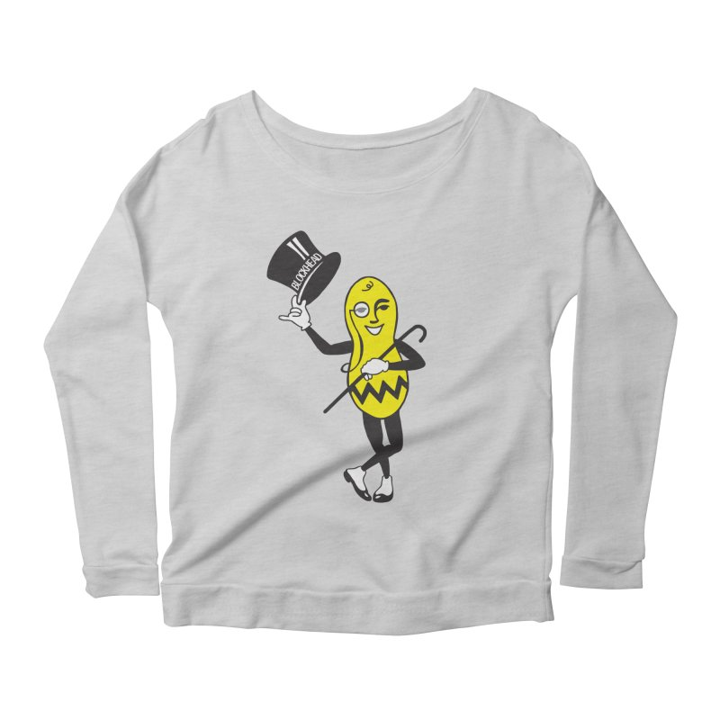 Peanuts Women's Scoop Neck Longsleeve T-Shirt by Gepson Design