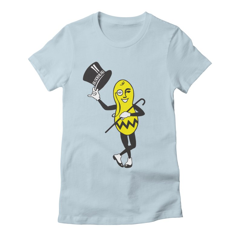 Peanuts Women's Fitted T-Shirt by Gepson Design