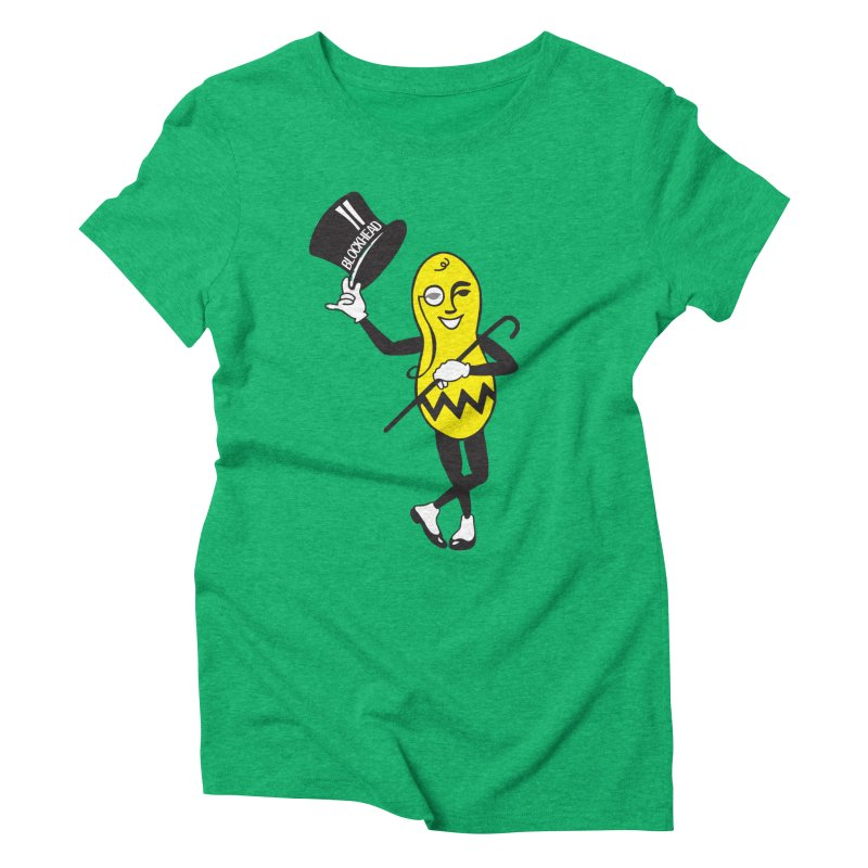 Peanuts Women's Triblend T-Shirt by Gepson Design