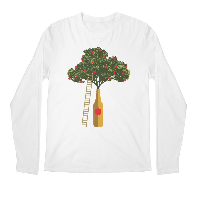 Hard Cider Men's Longsleeve T-Shirt by Gepson Design