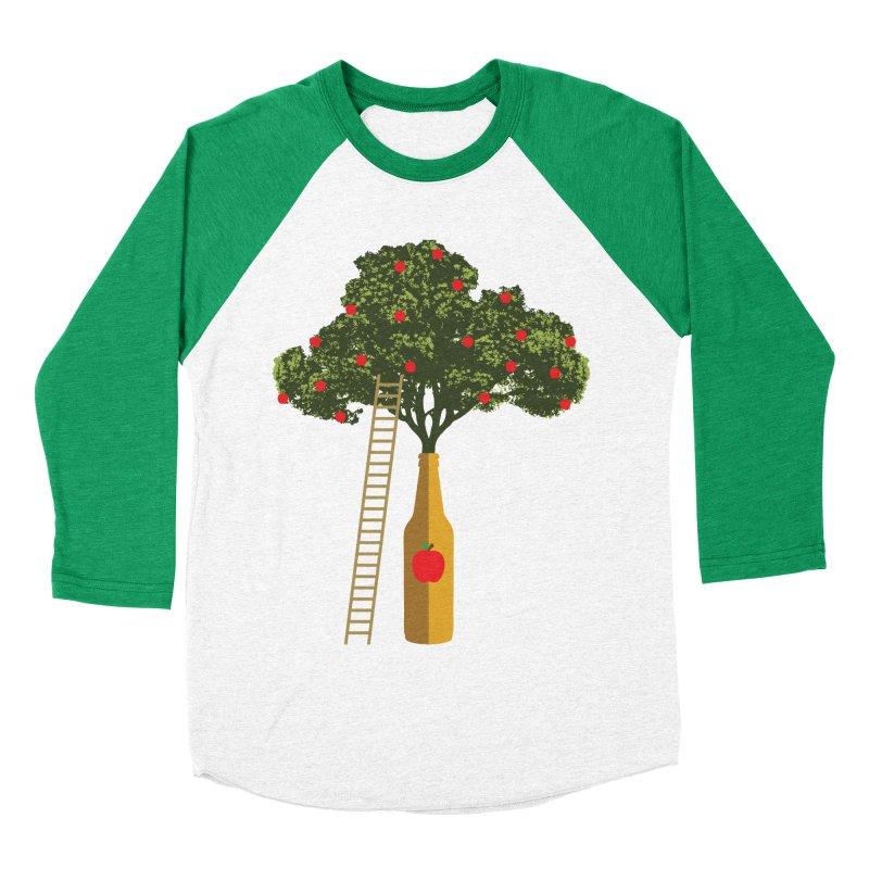 Hard Cider Women's Baseball Triblend Longsleeve T-Shirt by Gepson Design