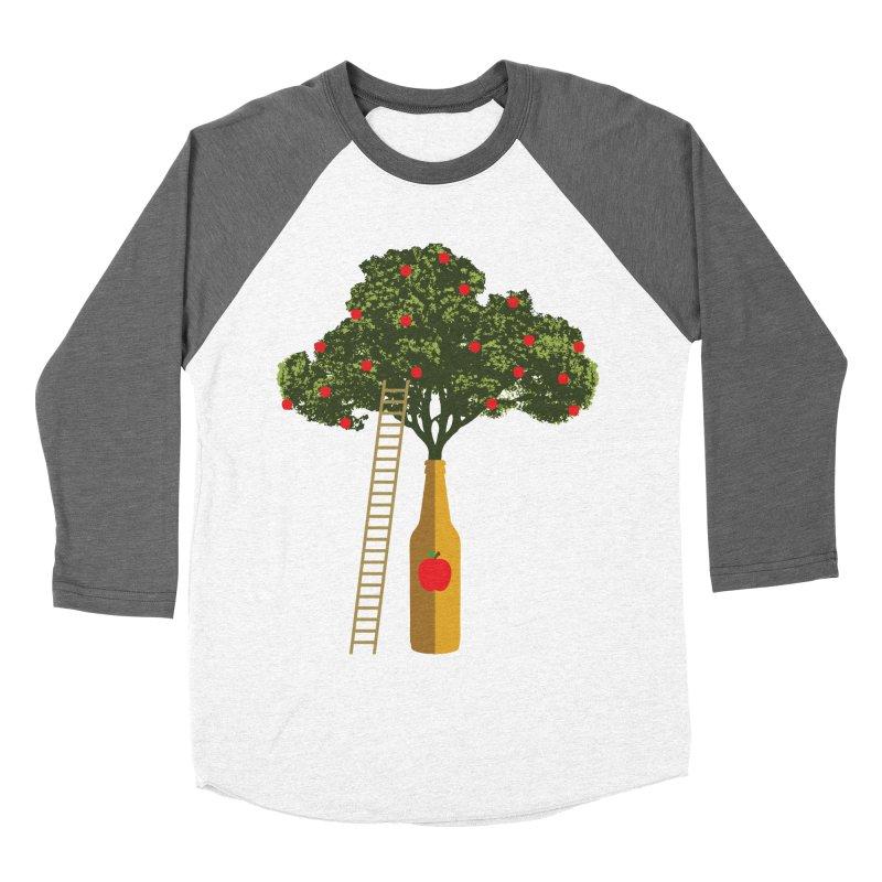 Hard Cider Men's Baseball Triblend Longsleeve T-Shirt by Gepson Design