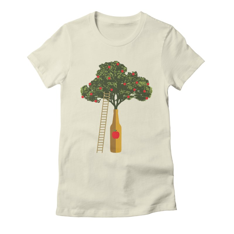 Hard Cider Women's Fitted T-Shirt by Gepson Design