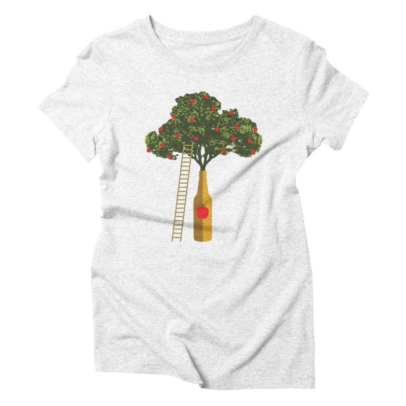 Hard Cider Women's Triblend T-shirt by Gepson Design