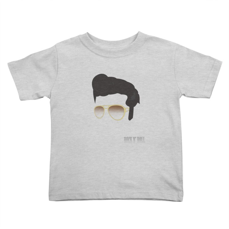 The King Kids Toddler T-Shirt by Reticula's Artist Shop