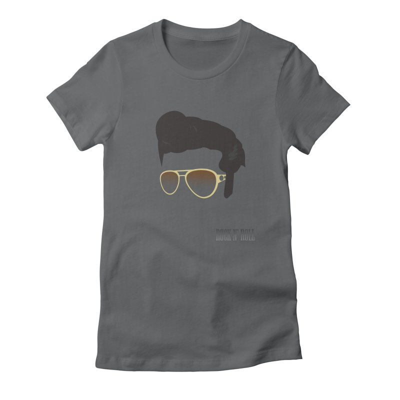 The King Women's Fitted T-Shirt by Reticula's Artist Shop