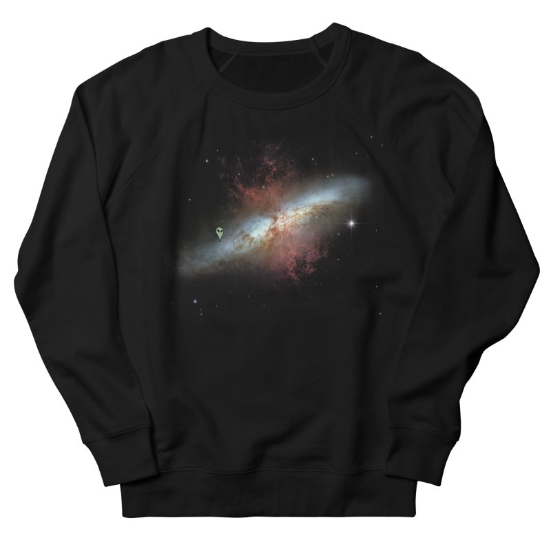 We are not alone Men's Sweatshirt by Reticula's Artist Shop
