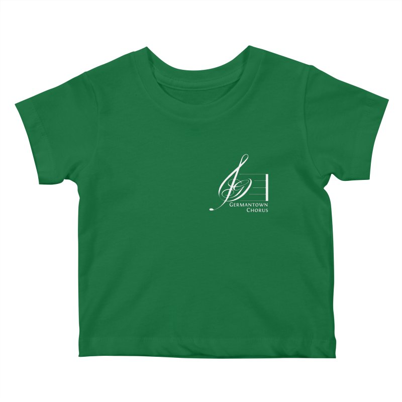 GCC Logo - White Kids Baby T-Shirt by Germantown Community Chorus Shop