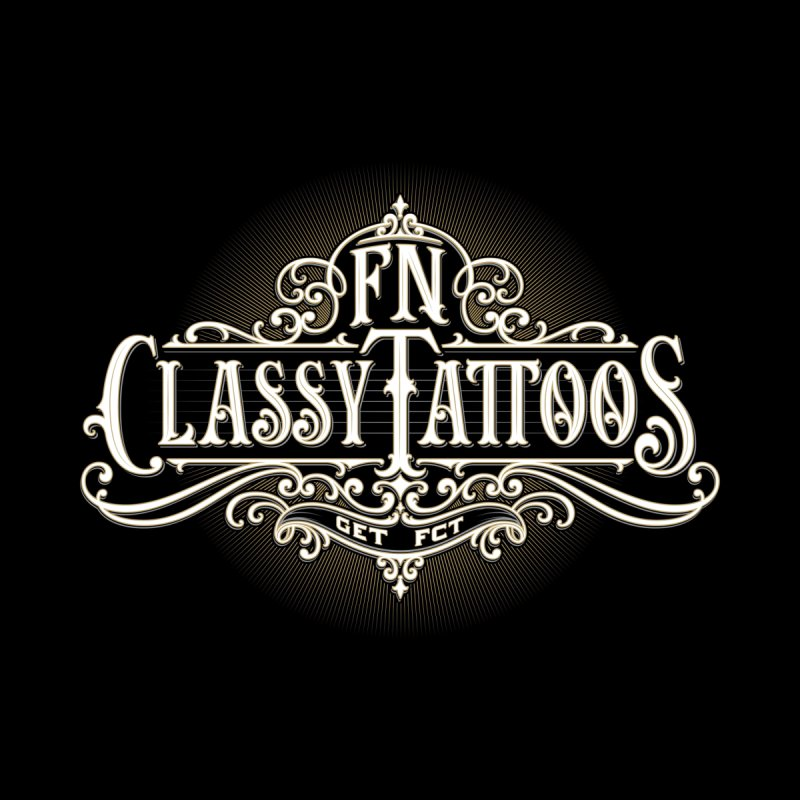 FN Classy Logo Black Accessories Skateboard by FN CLASSY STUFF FOR FN CLASSY PEOPLE