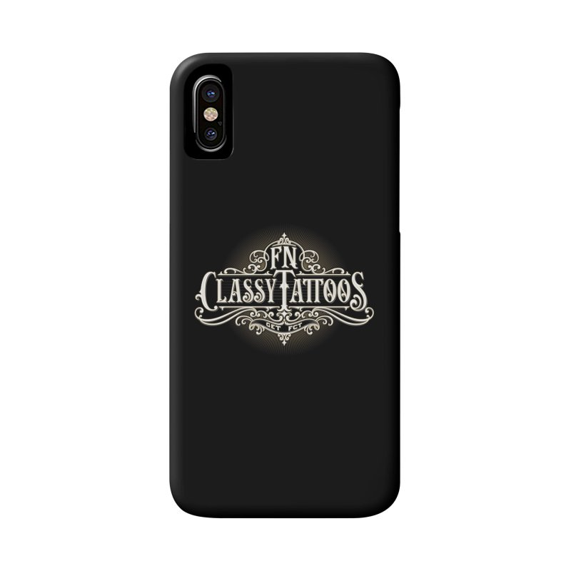 FN Classy Logo Black Accessories Phone Case by FN CLASSY STUFF FOR FN CLASSY PEOPLE