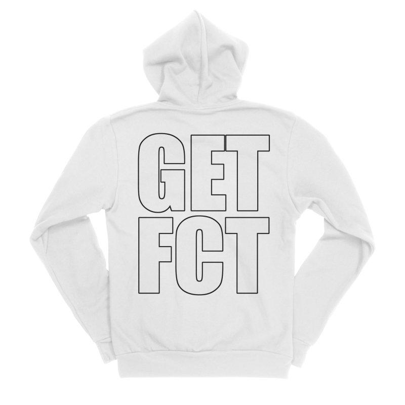 GET FCT! Men's Sponge Fleece Zip-Up Hoody by FN CLASSY STUFF FOR FN CLASSY PEOPLE