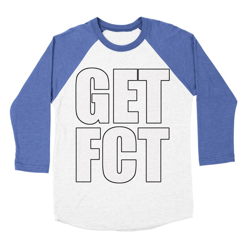 GET FCT! Men's Baseball Triblend Longsleeve T-Shirt by FN CLASSY STUFF FOR FN CLASSY PEOPLE