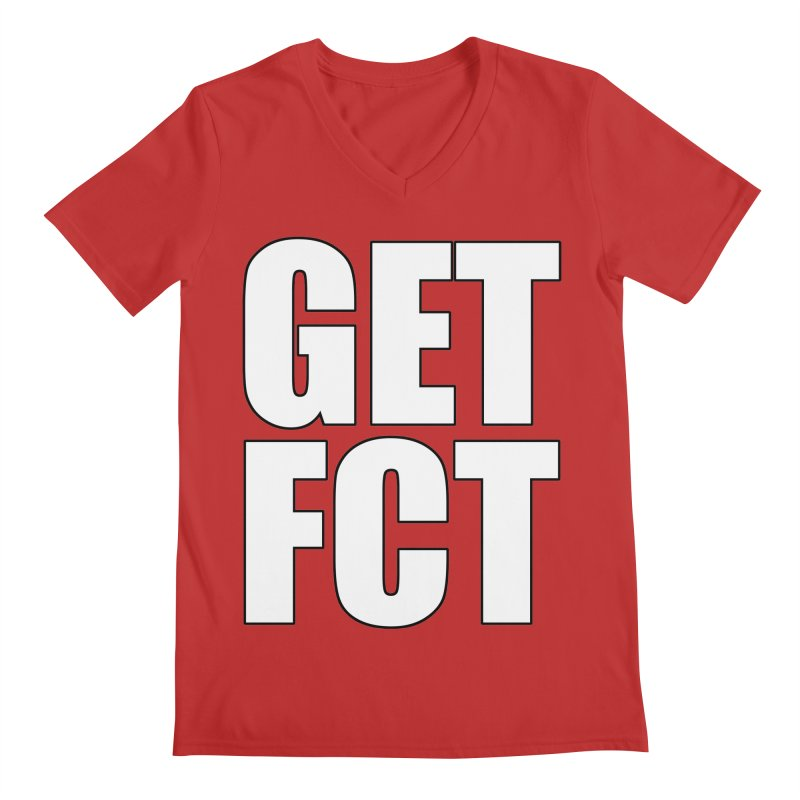 GET FCT! Men's Regular V-Neck by FN CLASSY STUFF FOR FN CLASSY PEOPLE