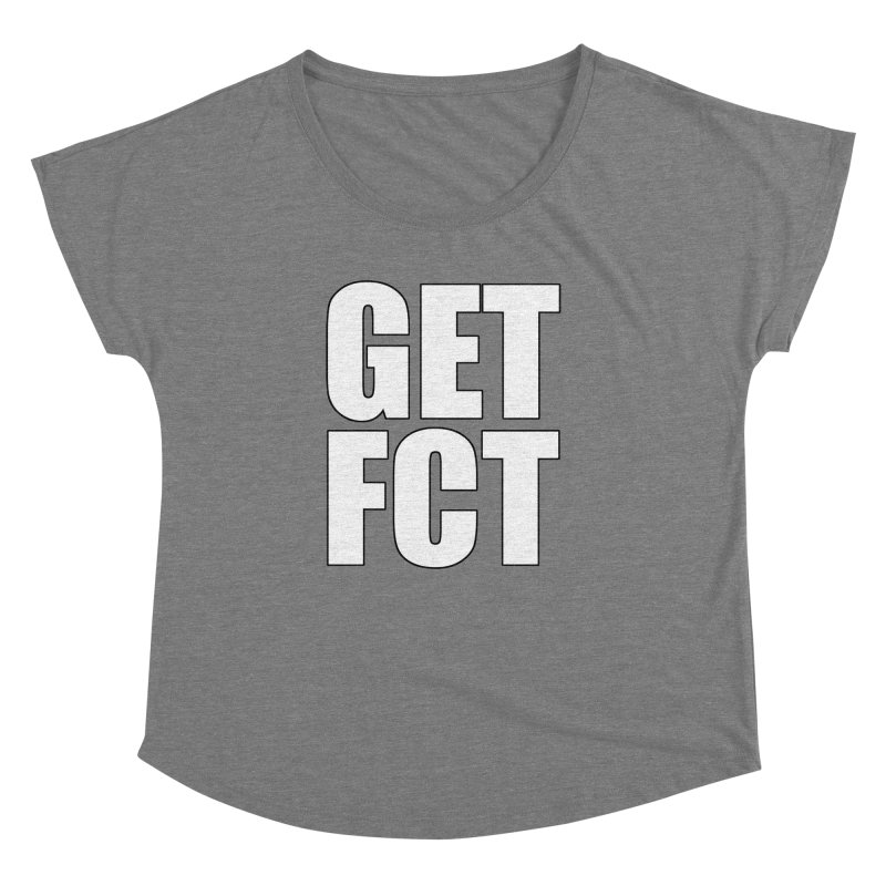 GET FCT! Women's Scoop Neck by FN CLASSY STUFF FOR FN CLASSY PEOPLE