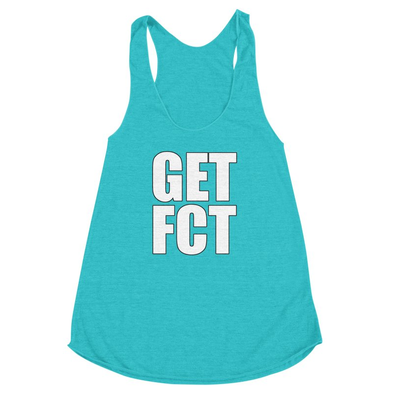GET FCT! Women's Racerback Triblend Tank by FN CLASSY STUFF FOR FN CLASSY PEOPLE