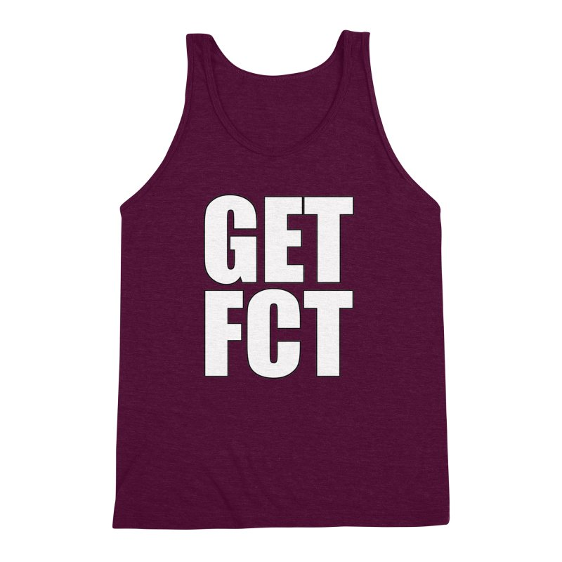 GET FCT! Men's Triblend Tank by FN CLASSY STUFF FOR FN CLASSY PEOPLE