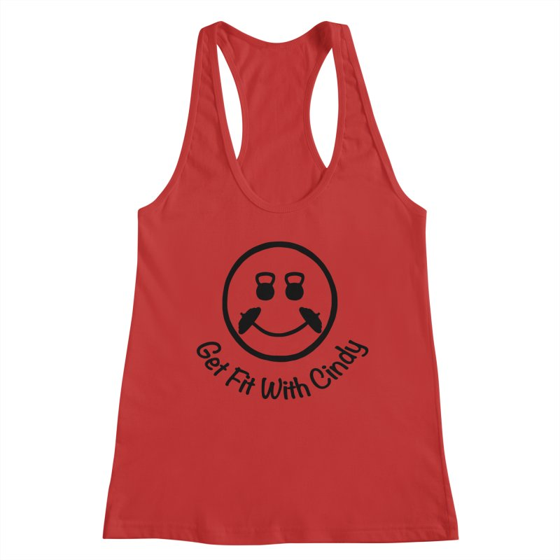 Get Fit With Cindy Women's Tank by Cindy's Artist Shop