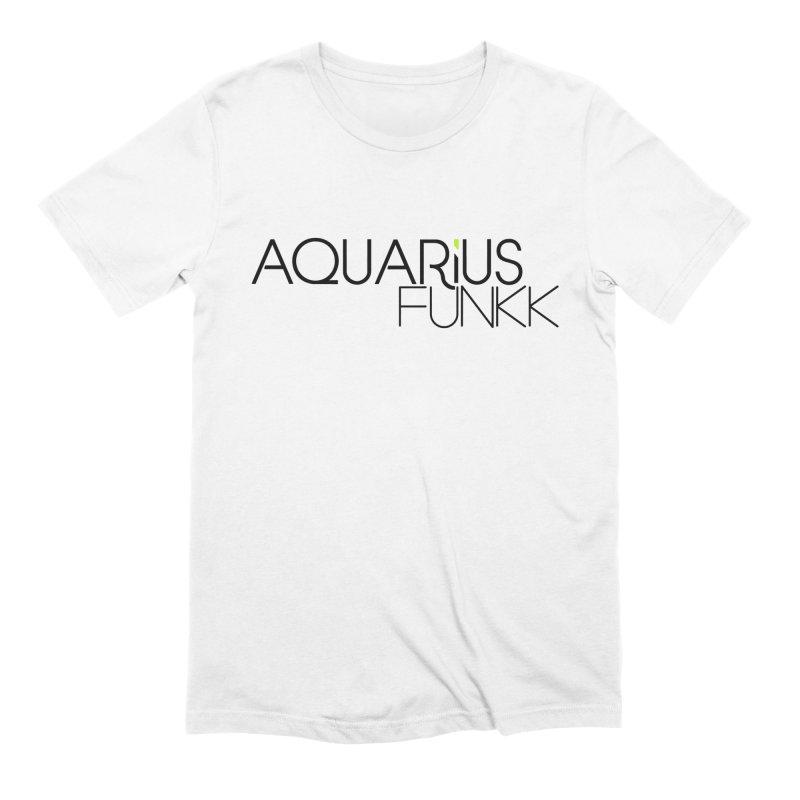 Aquarius Funkk Logo - Black Men's Extra Soft T-Shirt by Get Funkked