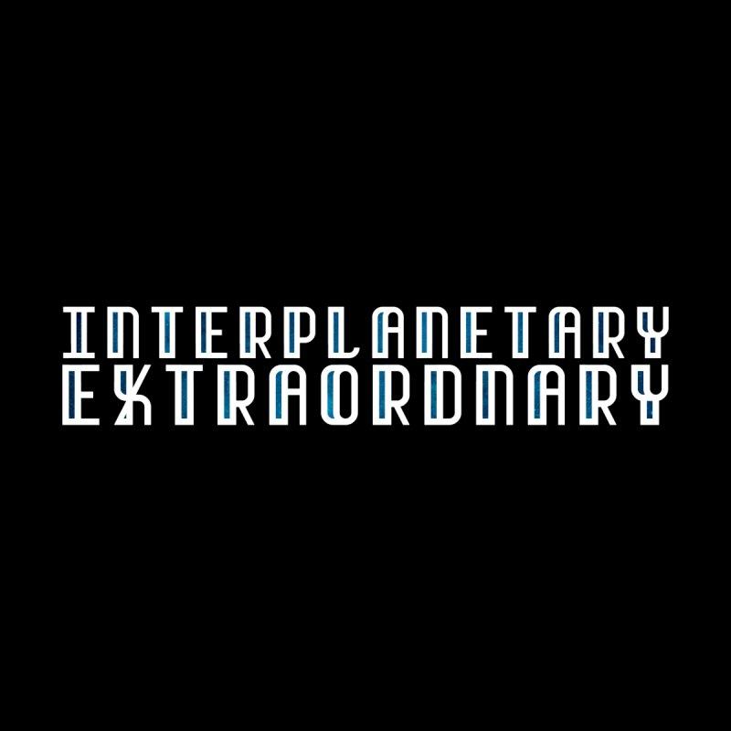 Interplanetary Extraordinary Galaxy White by Get Funkked