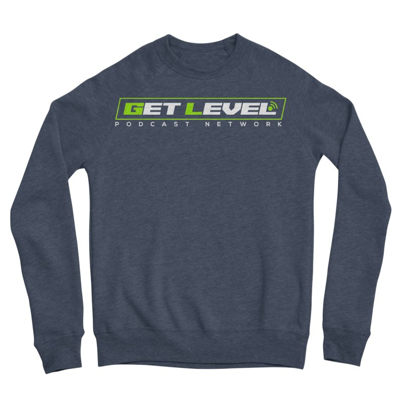 Get Level Podcast Network - White Logo Women's Sweatshirt by Get Level Podcast Network