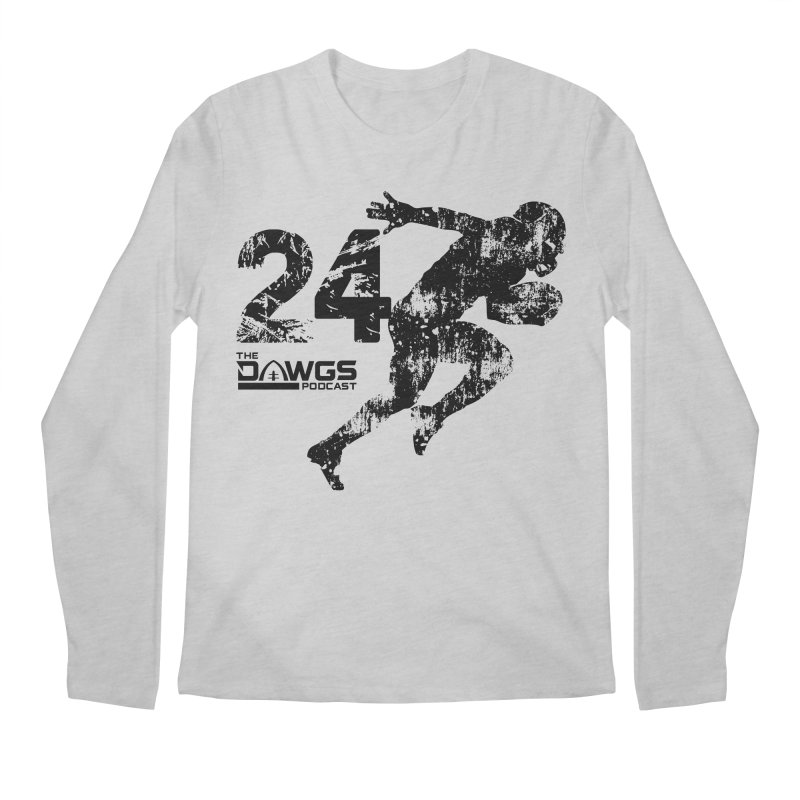 The Dawgs Podcast - 24 Men's Longsleeve T-Shirt by Get Level Podcast Network