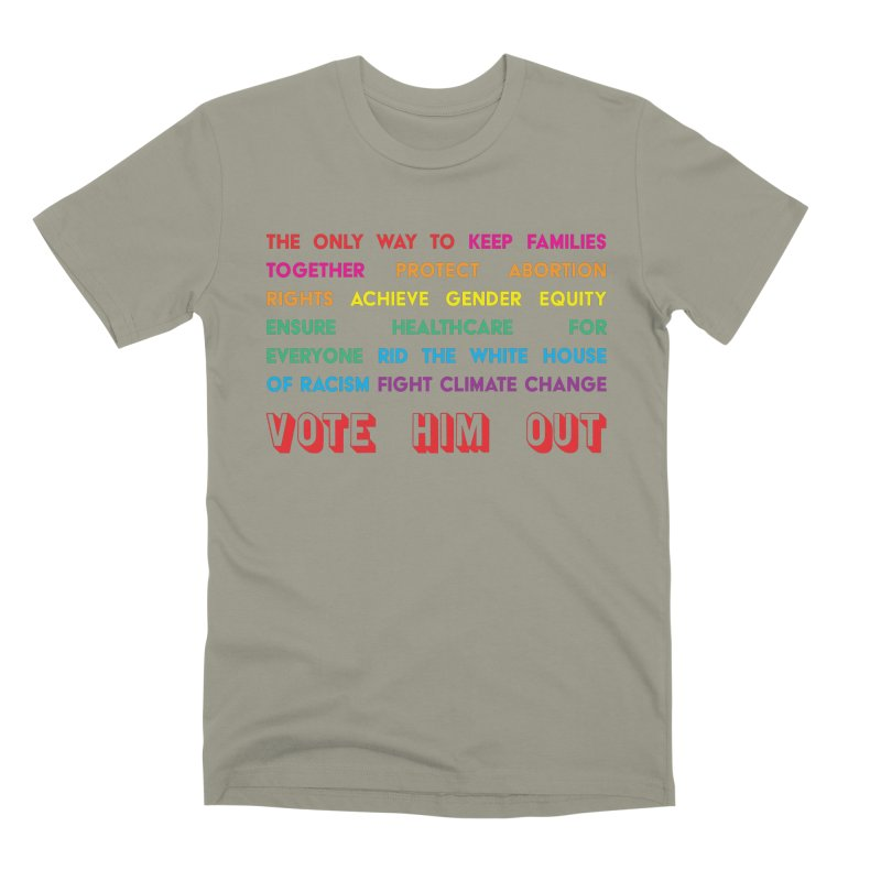 The Only Way Men's Premium T-Shirt by Get Organized BK's Artist Shop