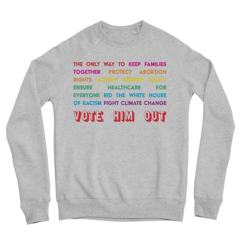 The Only Way Men's Sponge Fleece Sweatshirt by Get Organized BK's Artist Shop
