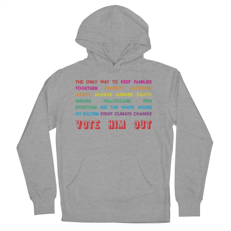 The Only Way Women's French Terry Pullover Hoody by Get Organized BK's Artist Shop