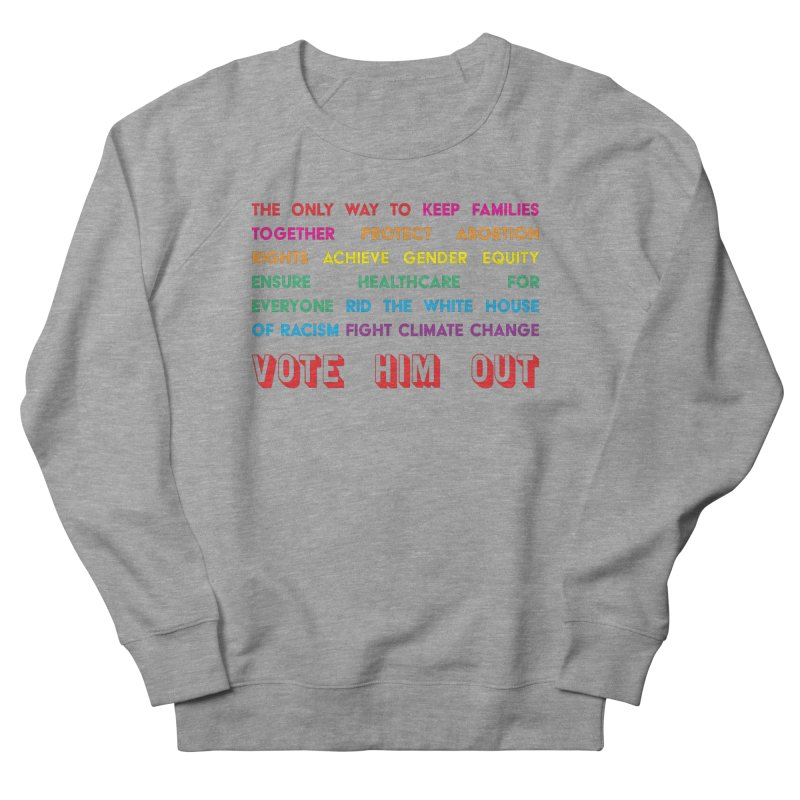 The Only Way Men's French Terry Sweatshirt by Get Organized BK's Artist Shop