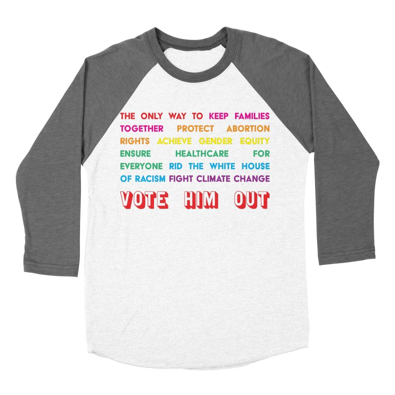 The Only Way Women's Baseball Triblend Longsleeve T-Shirt by Get Organized BK's Artist Shop