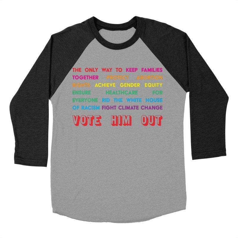 The Only Way Men's Baseball Triblend Longsleeve T-Shirt by Get Organized BK's Artist Shop